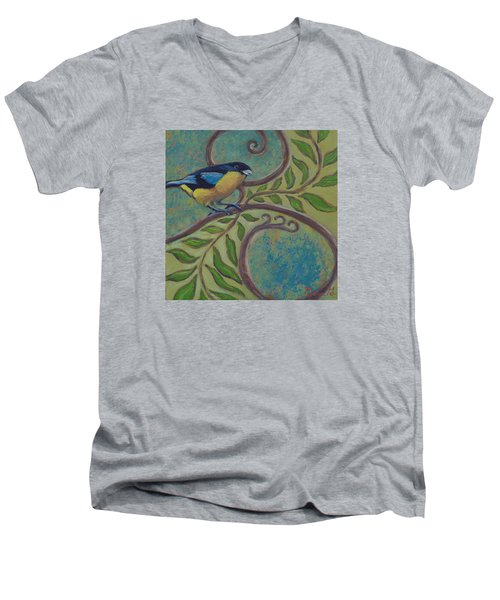 Loopty Do Men's V-Neck T-Shirt