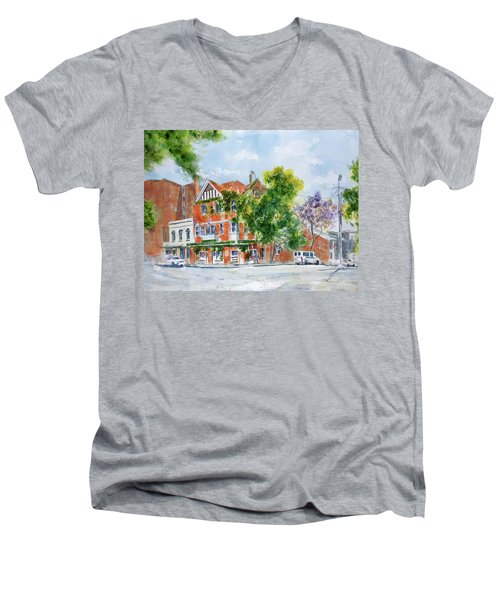Lord Dudley Hotel Men's V-Neck T-Shirt