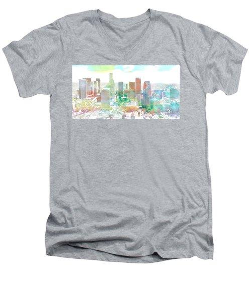 Los Angeles, California, United States Men's V-Neck T-Shirt