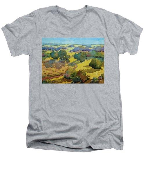 Los Olivos Impression Men's V-Neck T-Shirt