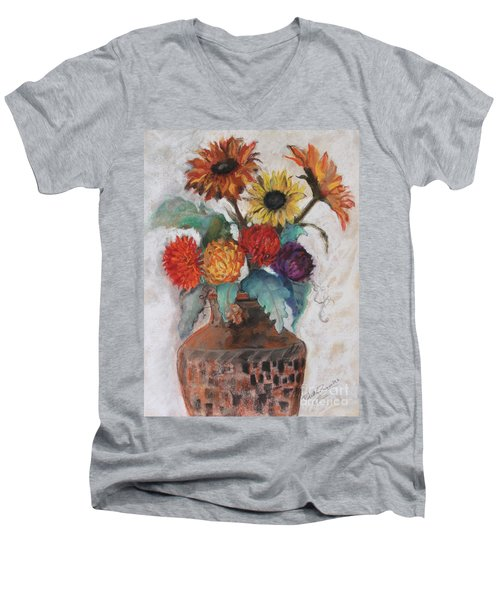 Lost And Found Men's V-Neck T-Shirt by Robin Maria Pedrero