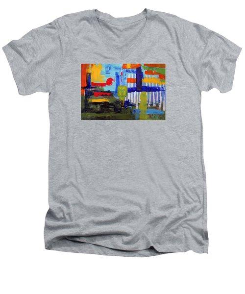 Lost In Forest Men's V-Neck T-Shirt