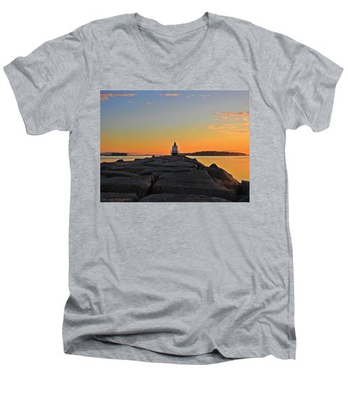 Lost In The Sunrise Men's V-Neck T-Shirt