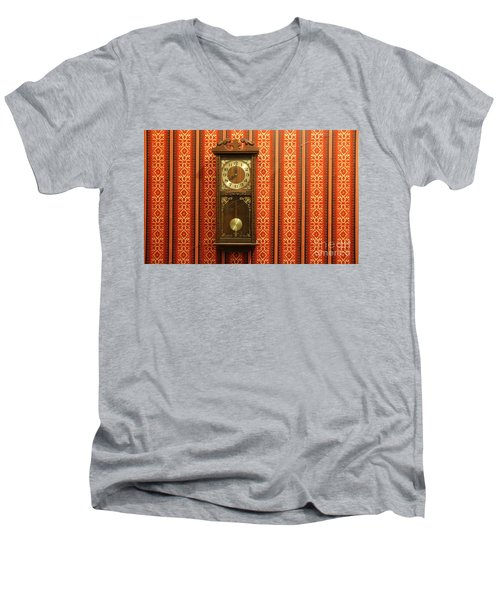 Men's V-Neck T-Shirt featuring the photograph Lost In Time And Space by Stephen Mitchell