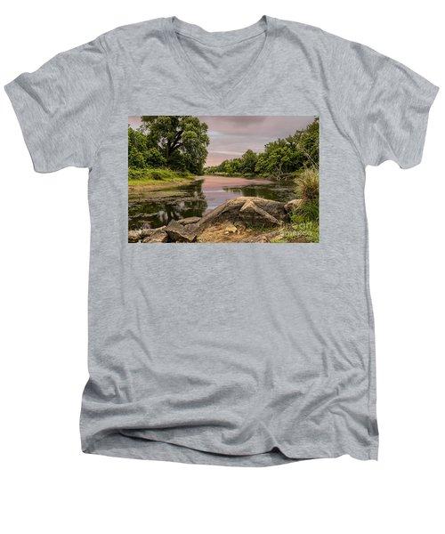 Lost Lake Men's V-Neck T-Shirt