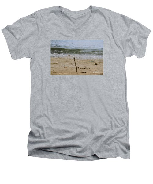 Lost Message In A Bottle 2 Men's V-Neck T-Shirt