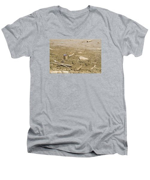 Lost Message In A Bottle Men's V-Neck T-Shirt