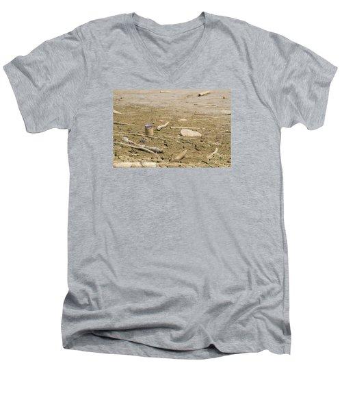Lost Message In A Bottle Men's V-Neck T-Shirt
