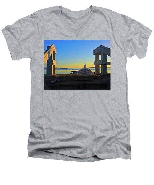 Lost Shoes Men's V-Neck T-Shirt
