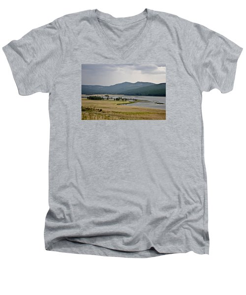 Lost Trail Wildlife Refuge 2 Men's V-Neck T-Shirt