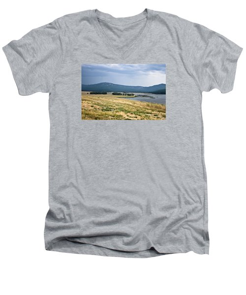 Lost Trail Wildlife Refuge 3 Men's V-Neck T-Shirt