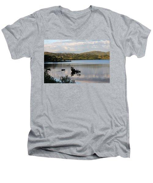 Lough Eske 4251 Men's V-Neck T-Shirt