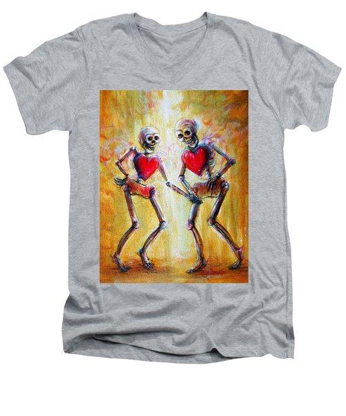 Love 2 Love Men's V-Neck T-Shirt
