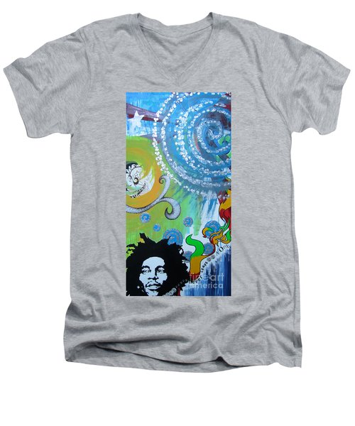 Love Alone Men's V-Neck T-Shirt