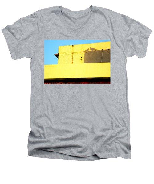 Love Arranged By Nature Men's V-Neck T-Shirt