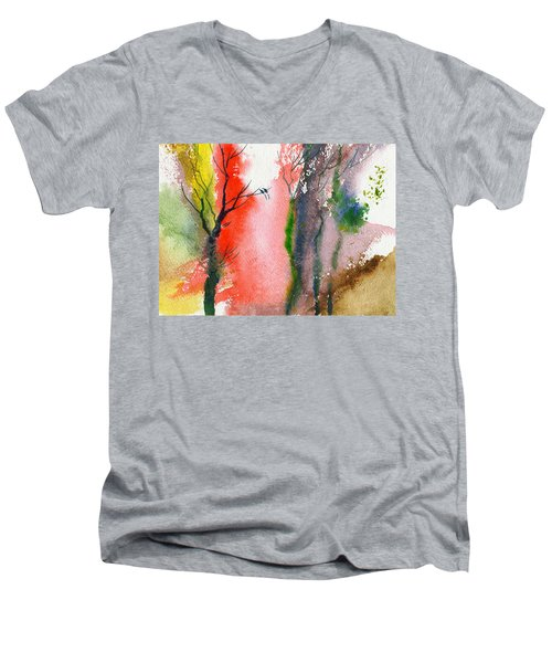 Love Birds 2 Men's V-Neck T-Shirt