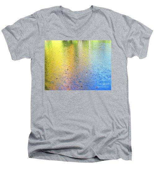 Love Calls Unceasingly Men's V-Neck T-Shirt