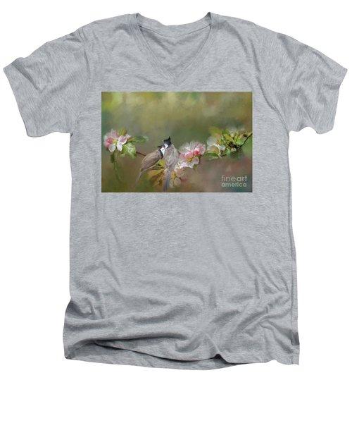 Love Couple Men's V-Neck T-Shirt
