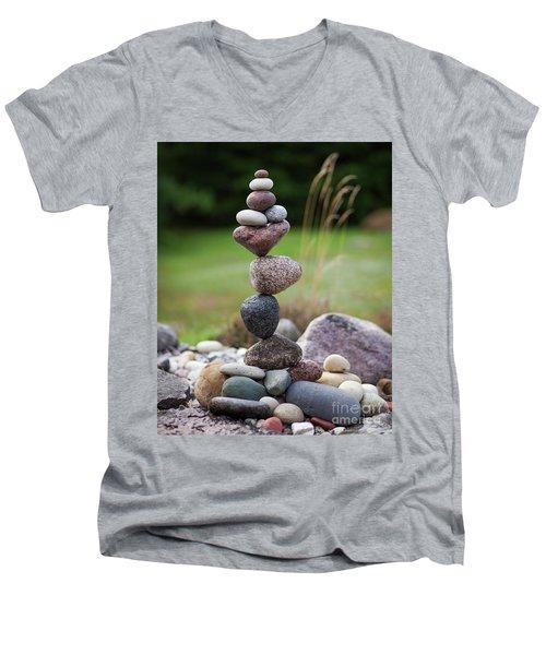 Love Flower Men's V-Neck T-Shirt
