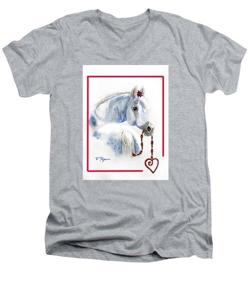 Love For Christmas Men's V-Neck T-Shirt