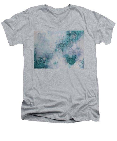 Love In Negative Spaces Men's V-Neck T-Shirt
