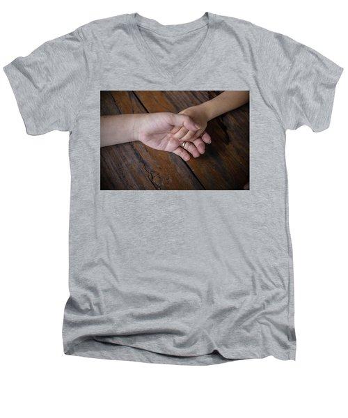 Love Keep Us Alive Men's V-Neck T-Shirt by Jingjits Photography
