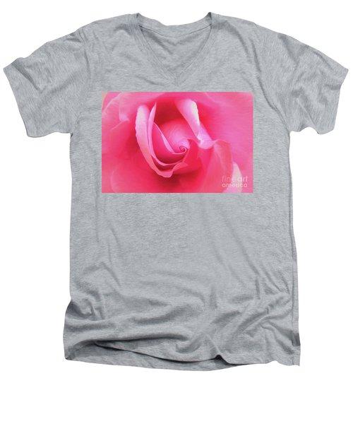 Love Pink Men's V-Neck T-Shirt