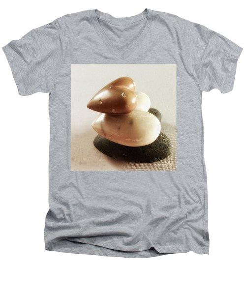 Love Rocks Men's V-Neck T-Shirt