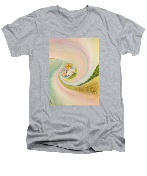 Love Story Men's V-Neck T-Shirt