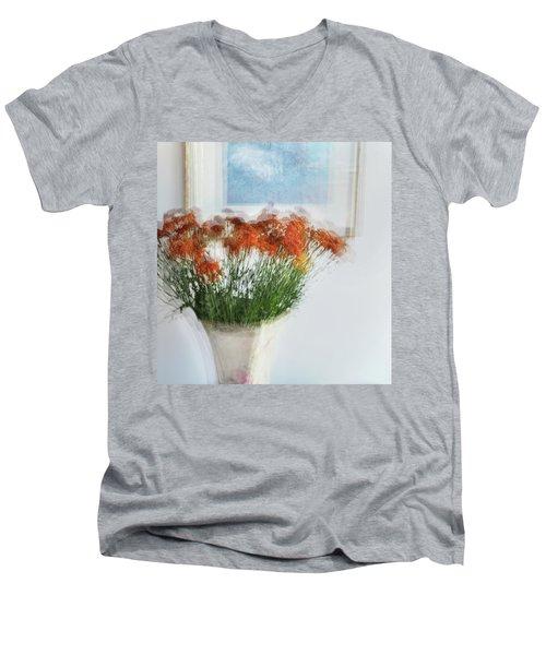 Love To Mother Men's V-Neck T-Shirt