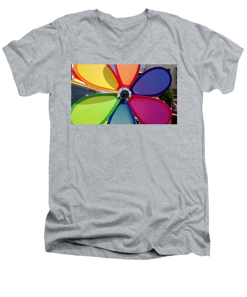 Love Wins Men's V-Neck T-Shirt