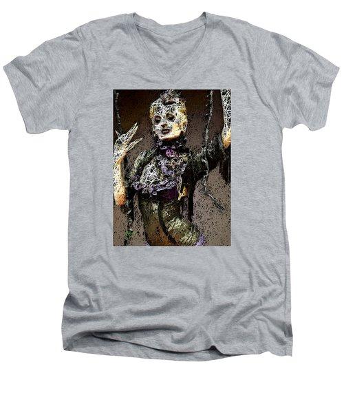 Lovely Agony Men's V-Neck T-Shirt
