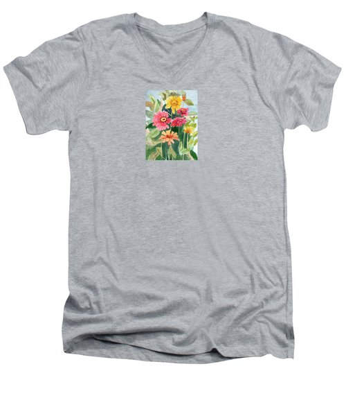 Lovely Flowers Men's V-Neck T-Shirt