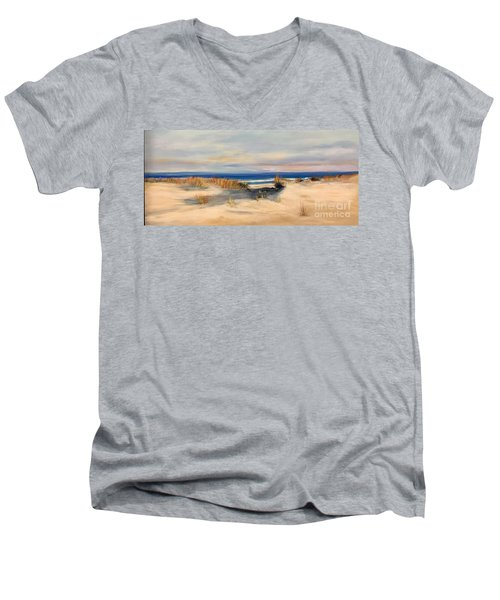 Lover's Key Men's V-Neck T-Shirt