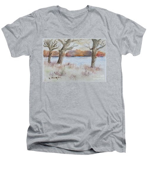 Lovers' Lake Men's V-Neck T-Shirt