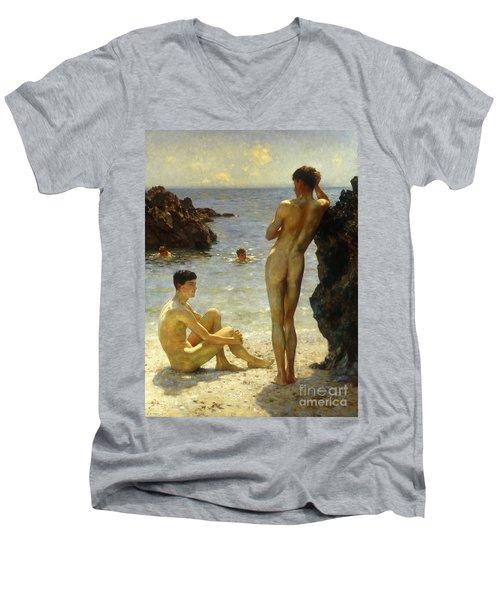 Lovers Of The Sun Men's V-Neck T-Shirt