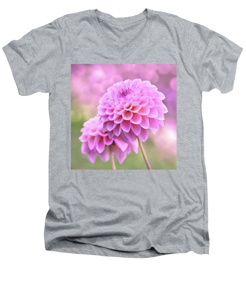Men's V-Neck T-Shirt featuring the photograph Lovestruck Romeo by John Poon