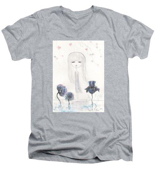Loving Hart Men's V-Neck T-Shirt