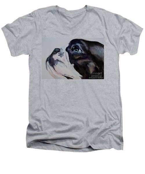 Loving Soul Men's V-Neck T-Shirt