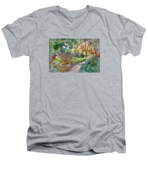 Low Country Walk Men's V-Neck T-Shirt
