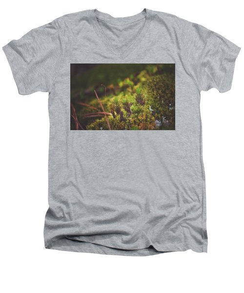 low in the valley -Loganville Georgia  Men's V-Neck T-Shirt