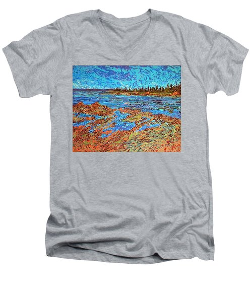 Low Tide Oak Bay Nb Men's V-Neck T-Shirt