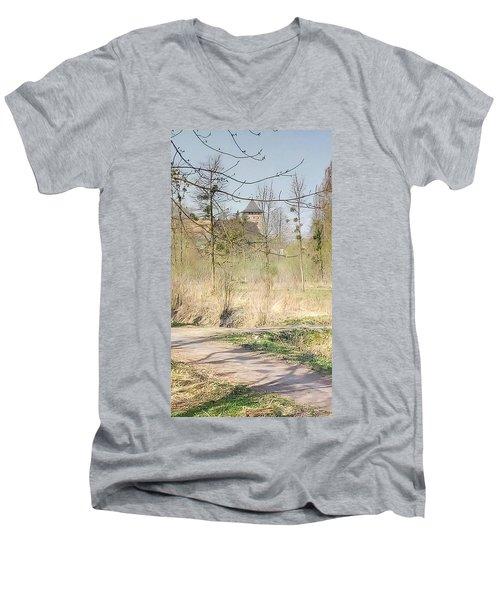 Lubart Castle Men's V-Neck T-Shirt