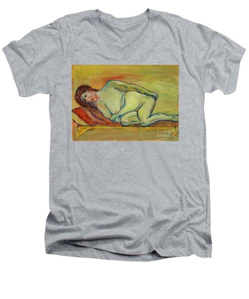 Lucien Who? Men's V-Neck T-Shirt