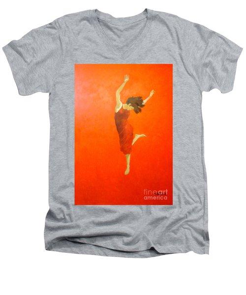 Lucky Impression Men's V-Neck T-Shirt