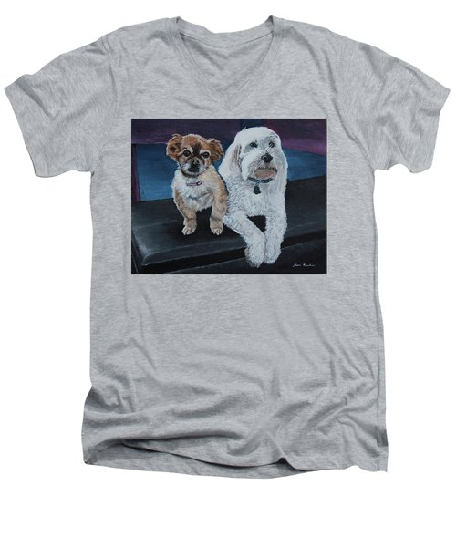 Lucy And Colby Men's V-Neck T-Shirt
