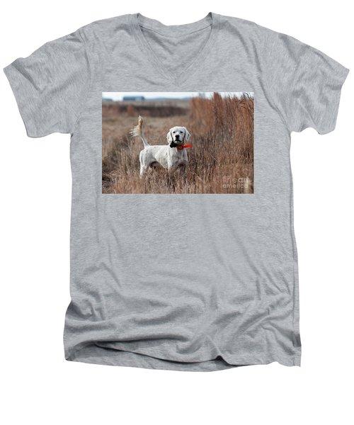 Men's V-Neck T-Shirt featuring the photograph Luke - D010076 by Daniel Dempster