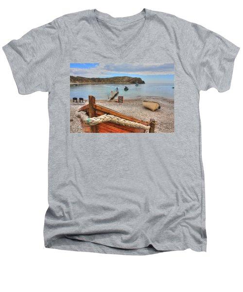 Lulworth Cove Men's V-Neck T-Shirt