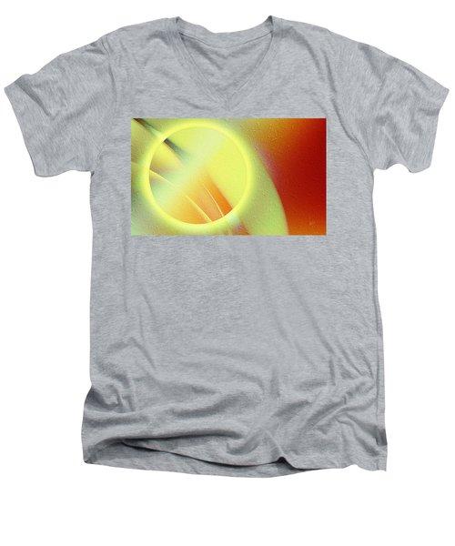 Luna Creciente Men's V-Neck T-Shirt
