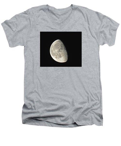 Lunar Delight Men's V-Neck T-Shirt